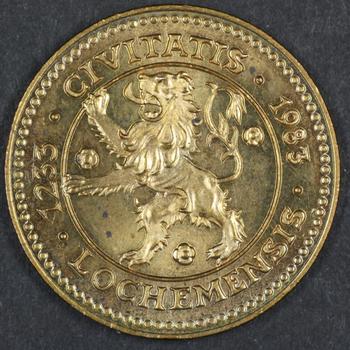 GEDENKPENNING LOCHEM 750 JAAR 1983