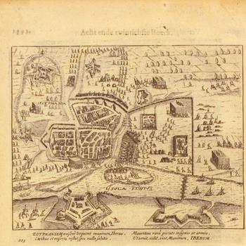 Acht en twintigste boek Belegering van Zutphen