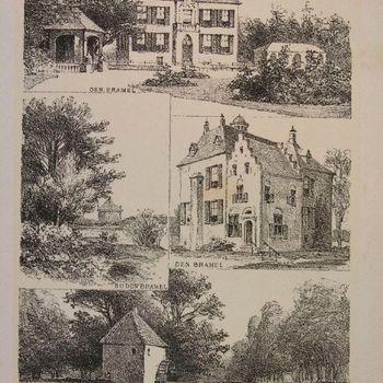 Den Bramel, bij Den Bramel, Den Bramel, Watermolen van Hackfort