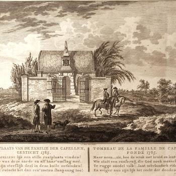 Begraafplaats van de familie der Capellen, gesticht 1785.