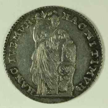 Halve gulden 1786 VOC,  Gelderland