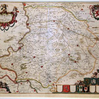 ZVTPHANIA  Comitatus sive Ducatus Gelriae TETRARCHIA Zutphaniensis.