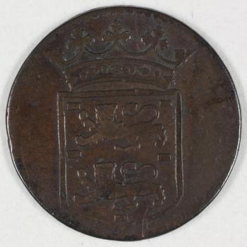 Duit VOC 1746, WEST-FRIESLAND
