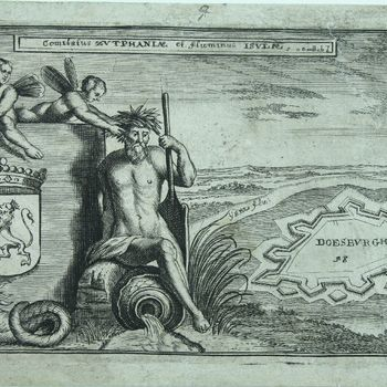Comitatus Zvtphaniae et fluminus ISVLAE