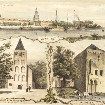 Zutphen. Kerk te Voorst. Nyenbeek.