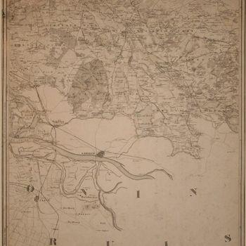 Kaart van de Graafschap Zutphen