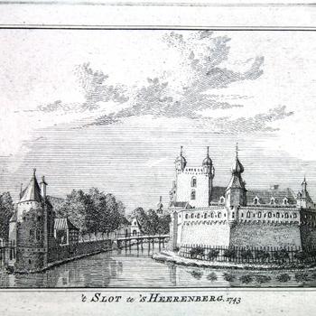 't Huis Oploo by 's Heerenberg. 1743