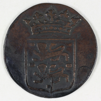 duit VOC 1792, WEST-FRIESLAND