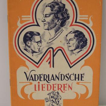 Liederen 'Vaderlandsche liederen', (27 stuks).