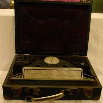 Meetinstrument om etsdiepte te bepalen uit collectie Misset