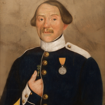 Portret van Jan Botter, door onbekende kunstenaar