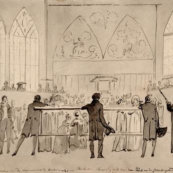 Oratie in 't auditorium van de Academie te Harderwijk, 1806, door Chr. Andriessen
