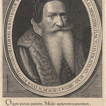 Portret van J. Fontanus