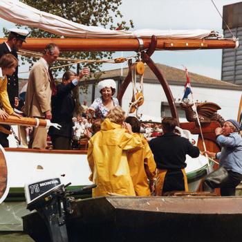 Harderwijk 750, bezoek van Koningin Beatrix
