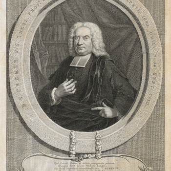 Portret van B.S. Cremer