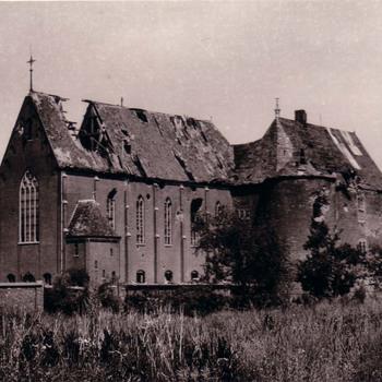 Vernietigd kasteel Ammerzoden.