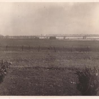 Bouw bruggen bij Zaltbommel 1933