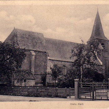 Hervormde kerk te Kerkwijk.