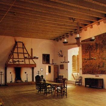 Ridderzaal van het kasteel Ammersoyen.