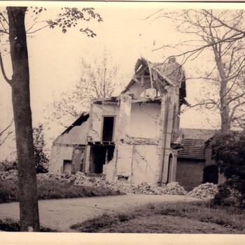 Verwoesthuis in Gameren.
