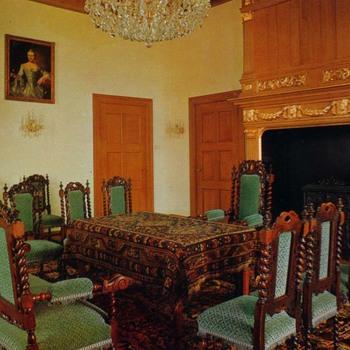 Trouwkamer van kasteel Ammersoyen.