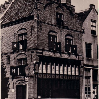 Oude wijnkooperij te Zaltbommel.