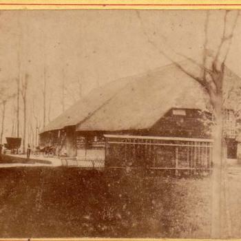 Boerenschuur bij het Hemelrijk te Kerkwijk.