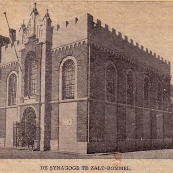 De Synagoge te Zaltbommel.