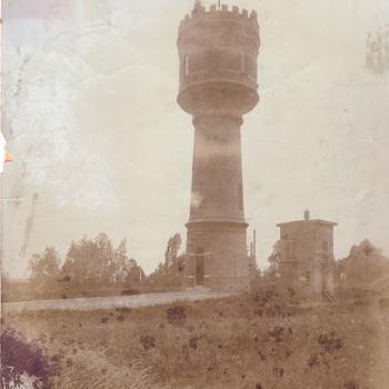 De oude watertoren bij Zaltbommel
