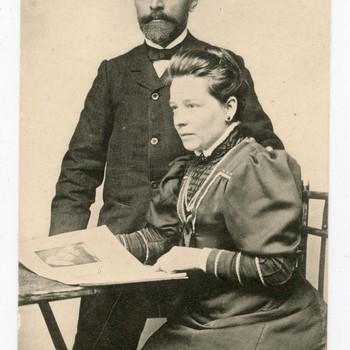 Groet van A. Sneep Cz. en echtgenoote