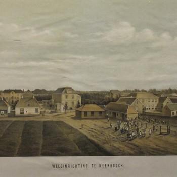 Weesinrichting Neerbosch rond 1876