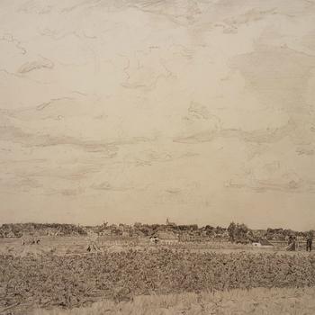 Gezicht op Hattem, panorama