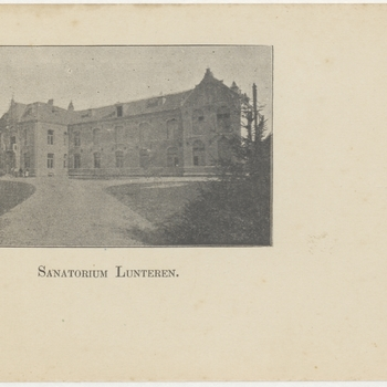 sanatorium;herstellingsoord