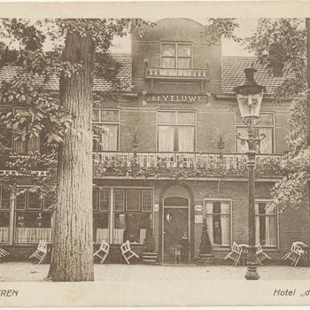 Hotel 'De Veluwe'.