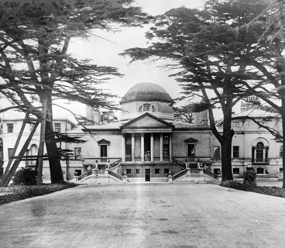 Chiswick House, in West London, was used as a mental institution from 1892-1928