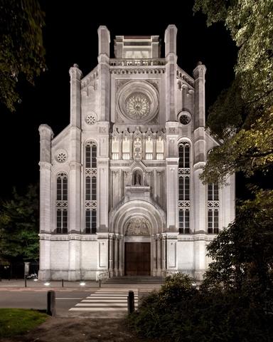 Sint-Annakerk, Sint-Annaplein Gent