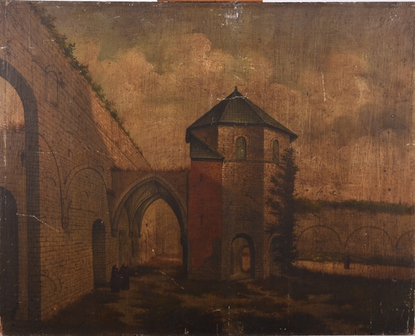 Ruïnes van de Sint-Baafsabdij te Gent