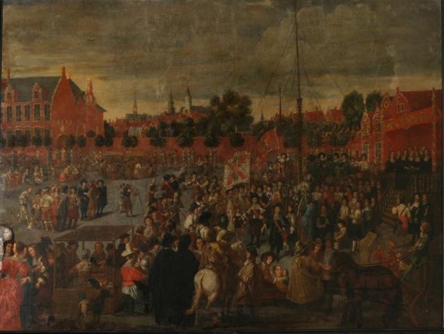 Koningsschieting van het Sint-Sebastiaansgilde te Gent