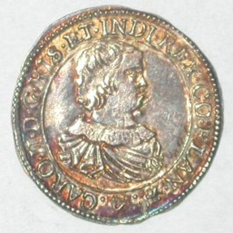 Inhuldigingspenning van Karel II in Vlaanderen, 1666