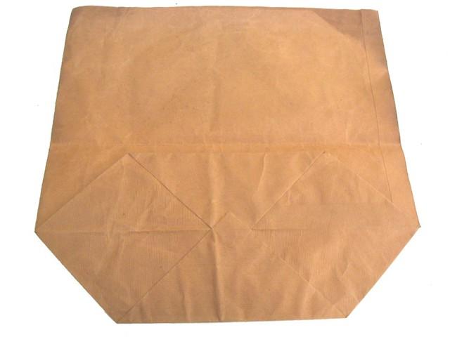 De Papieren Zak : Bruine papieren zak haarsnijderij