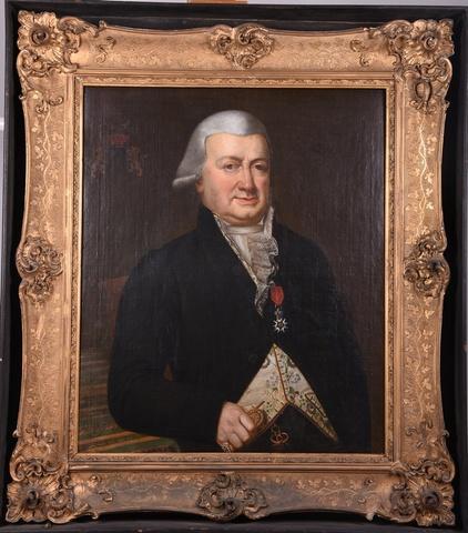 Portret van baron Charles Enée de Croeser de Berges