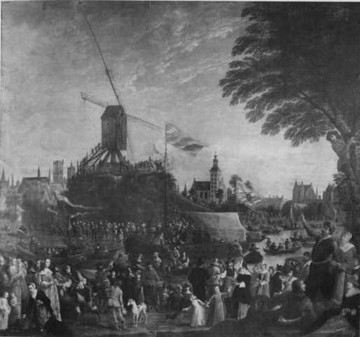 Koningsschieting van het Sint-Antoniusgild te Gent