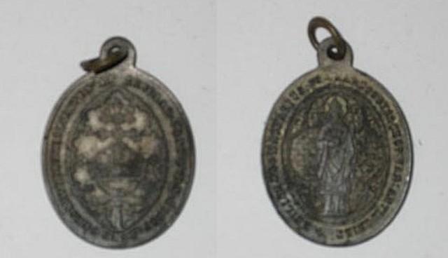 Heiligenpenning voor Macharius, aartsbisschop van Antiochië
