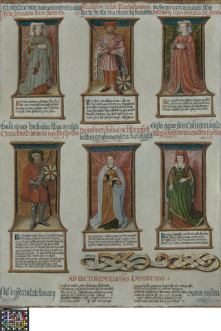 De in de Sint-Pietersabdij te Gent begraven Graven en Gravinnen van Vlaanderen