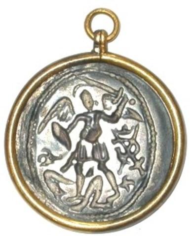Gildepenning van de St-Michielsgilde, 1637