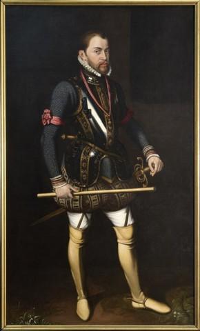 Portret van Filips II