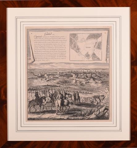 Inname van Gent door Lodewijk XIV op 12 maart 1678