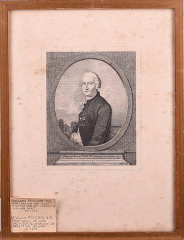 Portret van burggraaf Philippe Vilain XIIII, grootbaljuw van Gent