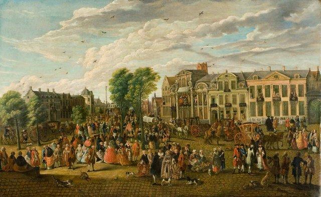 De Kouter te Gent in 1763