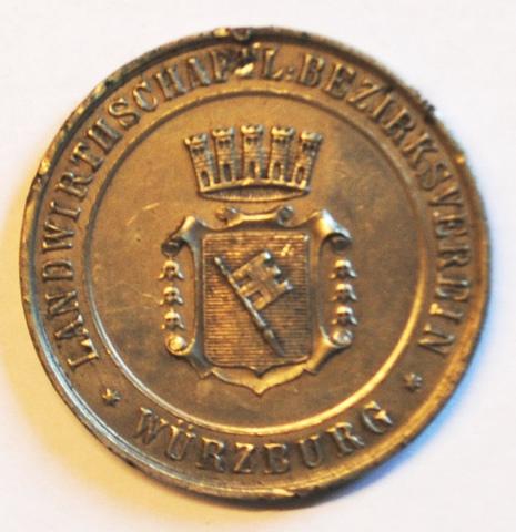Prijspenning van Würzburg voor verdienste in de Landbouwkunde